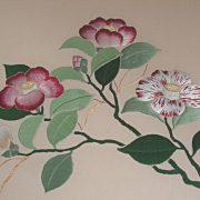 """Broderie japonaise """"Camellias"""""""
