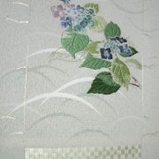 "Broderie japonaise ""Summer hydrangea scroll"""