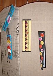 Des modèles de ceintures de voiture joyeux et colorés pour la journée de l'amitié des patcheuses d'Ariège