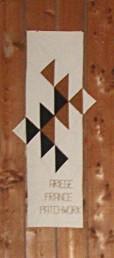 Emblème de la délégation ariégeoise de l'association France Patchwork