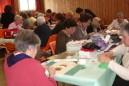 Journée de l'amitié de l'association France Patchwork Ariège : patchwork et broderie