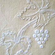 Tableau décoratif, ambiance tradition, détail de la vigne