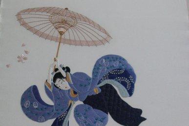 La broderie japonaise: toute une histoire…